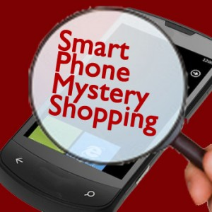 Club Training innovattion: smart phone APP for mystery shopping