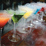 The risks of using liquid nitrogen in cocktails